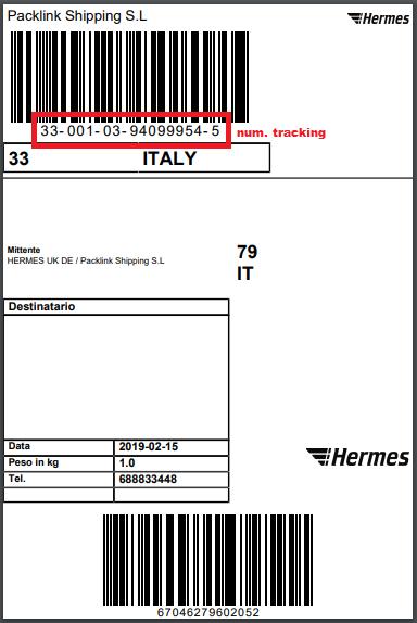 Effettuare Il Tracking Dell'Invio – Packlink Portale di Aiuto